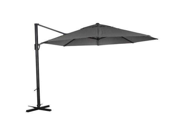 "Садовый зонт ""Fiesole"", цвет антрацит/серый"