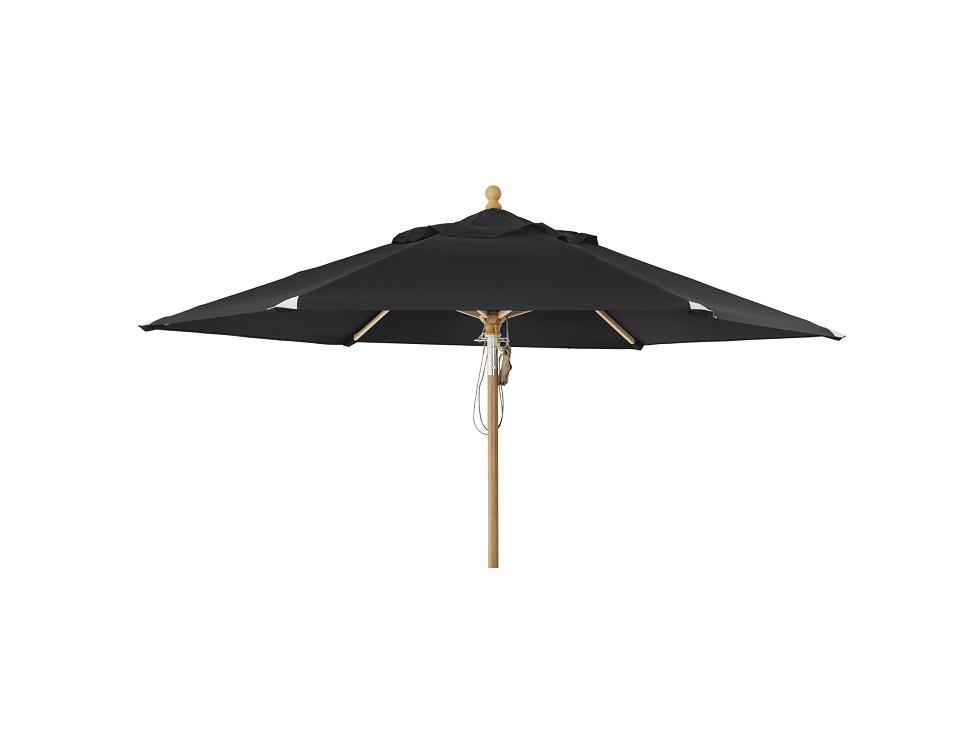 """Садовый зонт """"Parma"""", цвет черный"""
