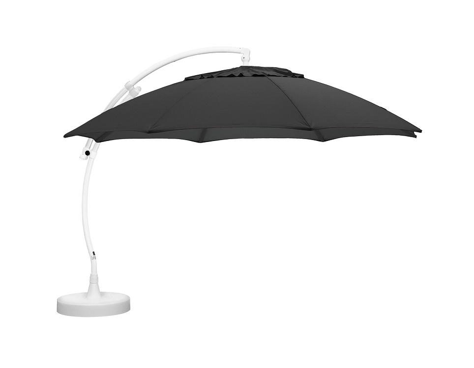 """Садовый зонт """"Easy Sun"""", цвет белый/антрацит"""