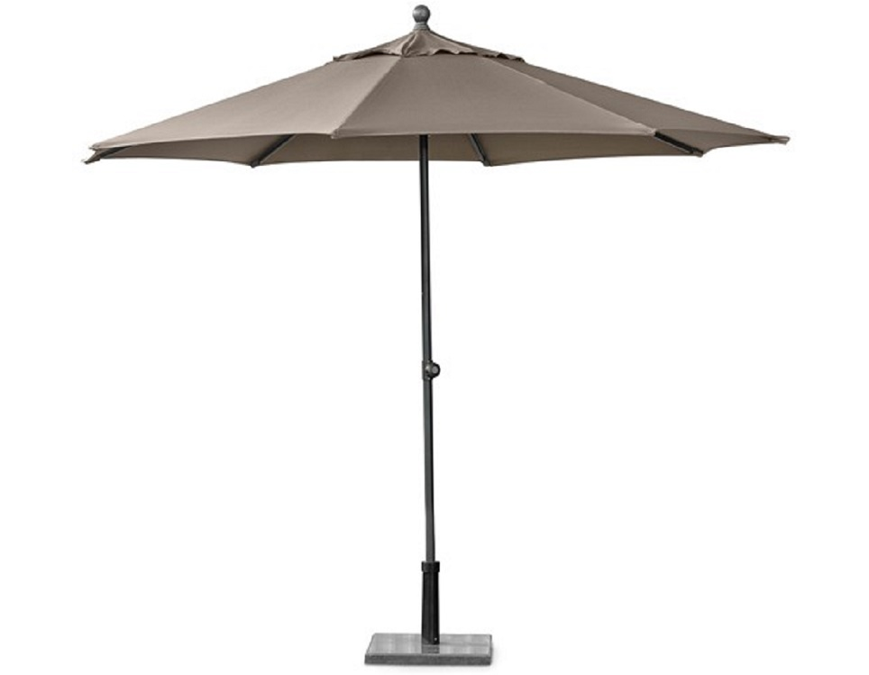 """Садовый зонт """"Easy Track"""", цвет серо/коричневый"""