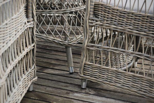 Цесена плетеная мебель из искусственного ротанга