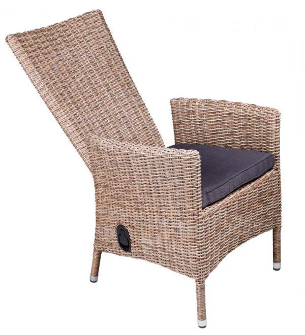 Плетеное кресло Capri. Артикул 7404-53-7. Azzura, Голландия.