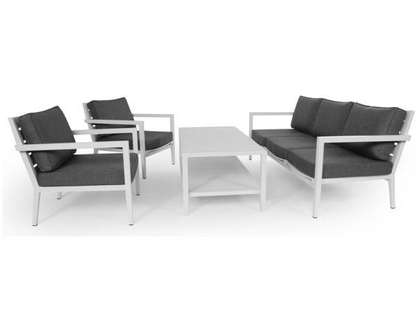 """Кресло """"Biarritz"""", цвет белый/серый"""
