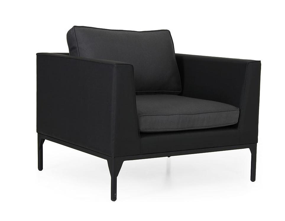 """Кресло """"Bastia"""", цвет черный/антрацит"""