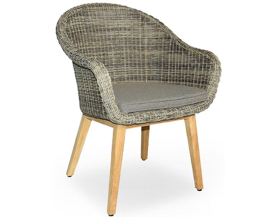 "Плетеное кресло ""Beverly"", цвет бежевый"