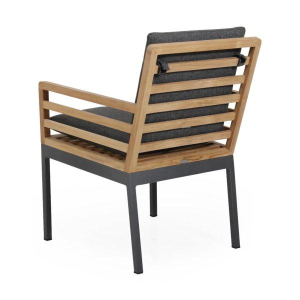 """Обеденное кресло """"Zalongo"""". Коллекция садовой мебели из алюминия """"Zalongo"""". Производство: Швеция, Brafab."""