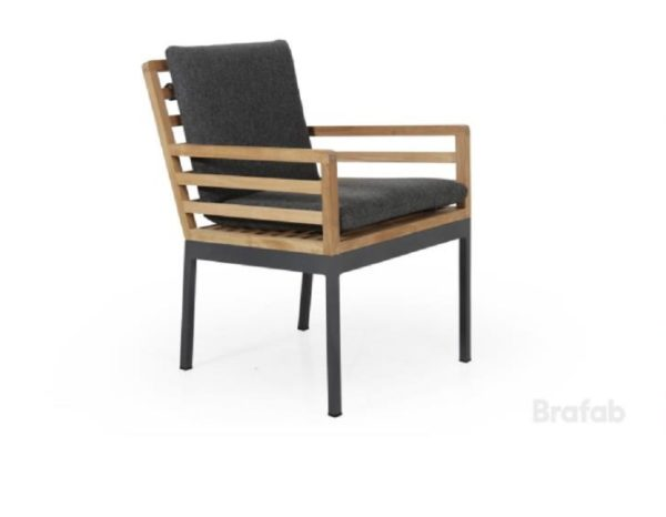 "Фото-Кресло из тика ""Zalongo"" обеденное Brafab"