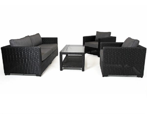 "Фото-Плетеная мебель ""Ninja Black"" Brafab"