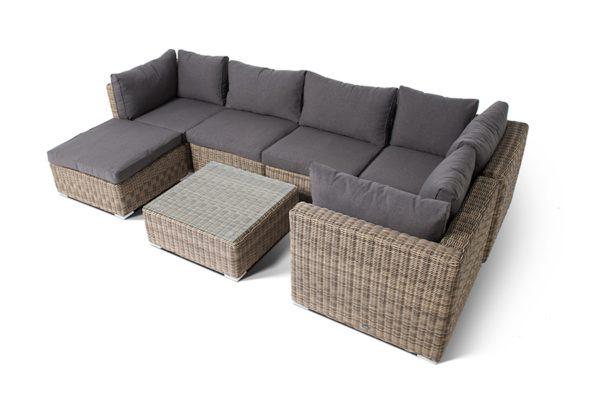 Лунго модульная плетеная мебель