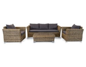 """Плетеная мебель лаунж зона """"Капучино"""""""