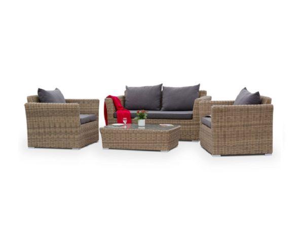 "Плетеная мебель ""Cappuccino"" 1 / 4SIS"