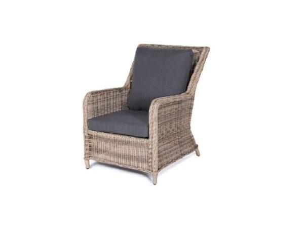 """Плетеное кресло ""Гляссе-картинка"""