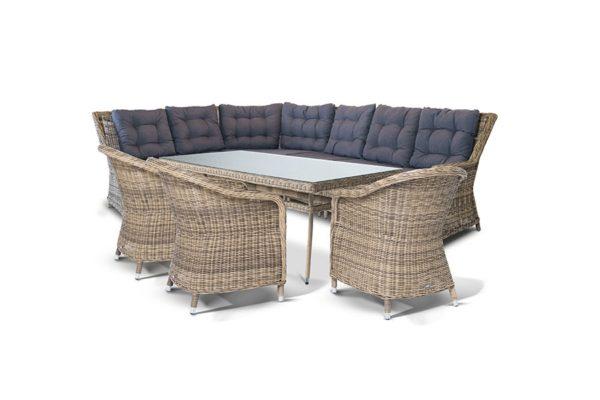 Плетеная мебель из искусственного ротанга «Базелла».