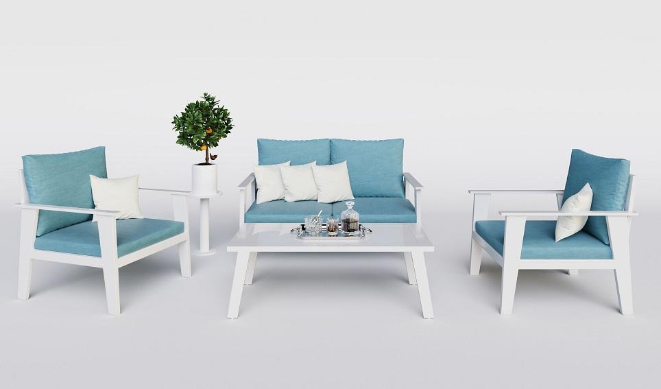 """""""Комплект садовой мебели из алюминия """"Riposo""""-картинка"""""""