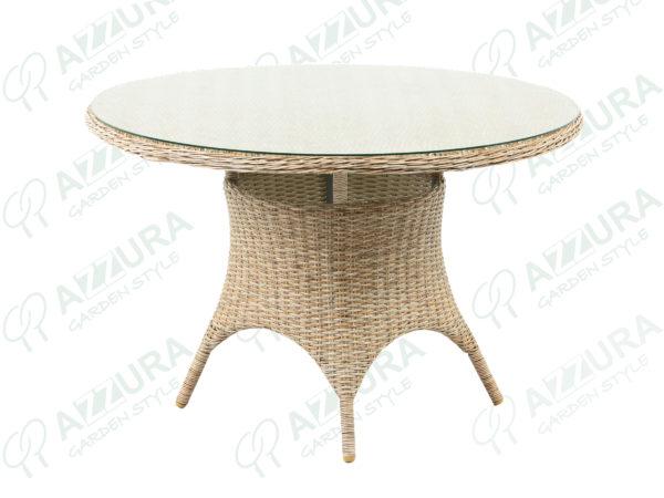 Плетеный обеденный стол Riccione, артикул 398400.
