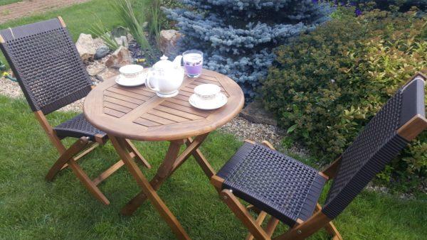Садовая мебель на 2 персоны Ever ton brown.