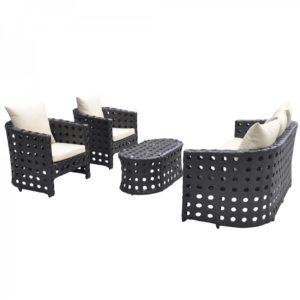 Фото-Комплект плетеной мебели Torino