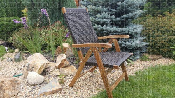 Плетеное кресло «Ever ton brown»