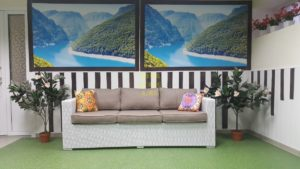 Плетеный диван «Louisiana». SunLineDesign