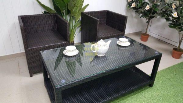 Плетеная мебель из искусственного ротанга «New York» cafe set.