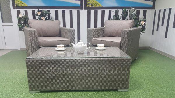 Плетеная мебель «Louisiana» cafe set