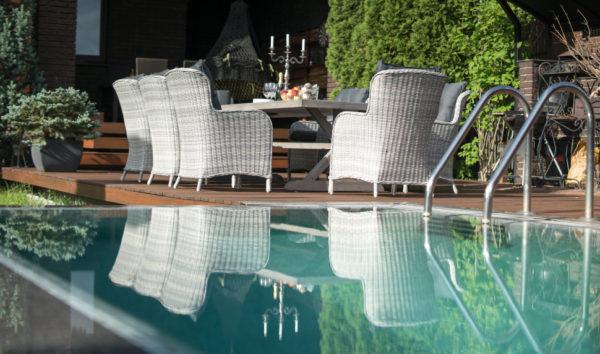 Бергамо плетеное обеденное кресло, Besta Fiesta
