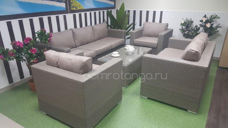 Плетеная мебель «Louisiana» patio set