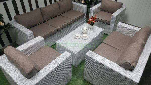Плетеная мебель «Louisiana» patio set. SunLineDesign