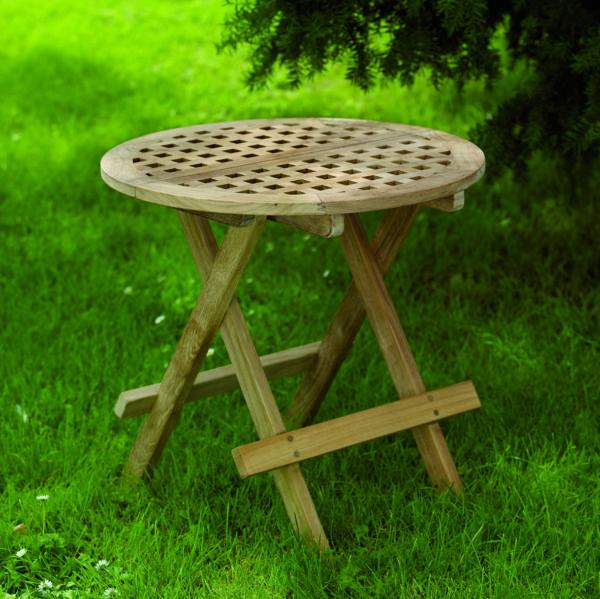 "Кофейный стол из тика ""Moni"". Производство: Brafab, Швеция."