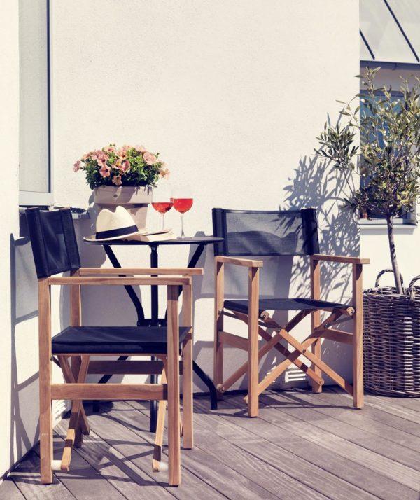 """Кресло из тика """"Drama"""" складное , садовая мебель Brafab, Швеция."""