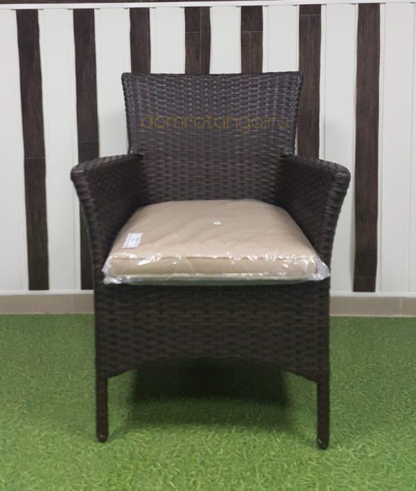 Кресло плетеное «Nina» Royal brown. SunLineDesign
