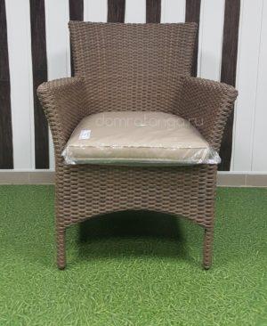 Плетеное обеденное кресло «Nina» Royal beige. SunLineDesign