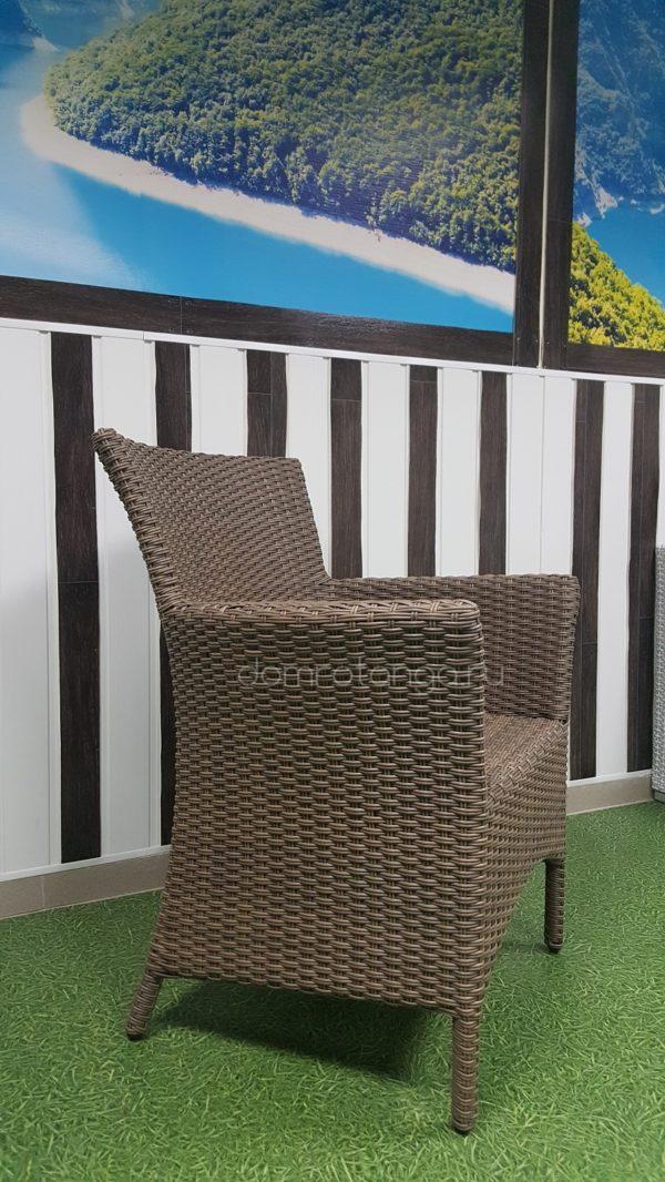 Кресло плетеное «Nina» Royal beige. SunLineDesign
