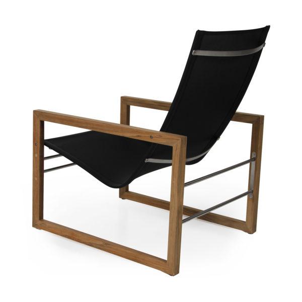 1208-8 Vevi кресло из натурального тика и текстилена