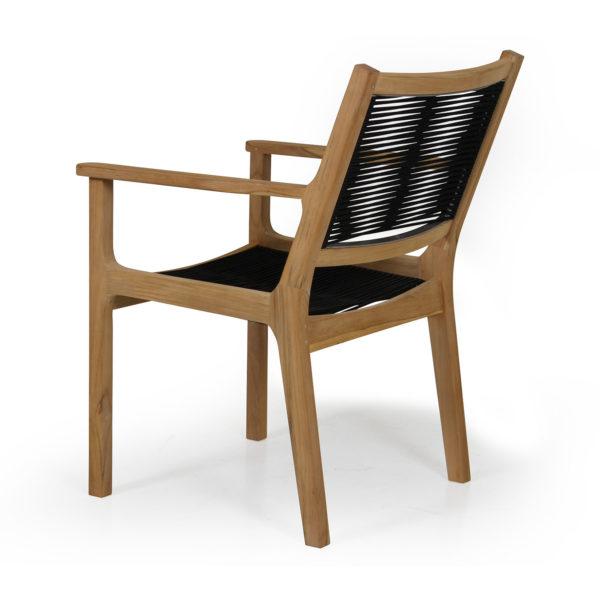 """Кресло обеденное из тика """"Agios"""", садовая мебель Brafab, Швеция."""