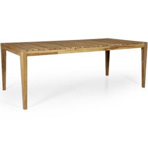 Обеденный стол Agios из тика производства фабрики Brafab, Швеция