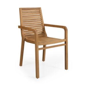 """Обеденное кресло из тика """"Volos"""" , садовая мебель Brafab, Швеция."""
