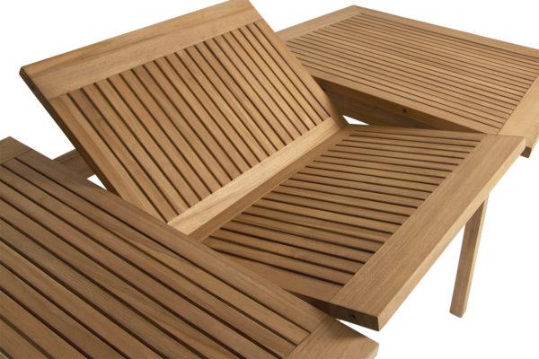 Обеденный стол из массива тика Volos. Brafab, Швеция