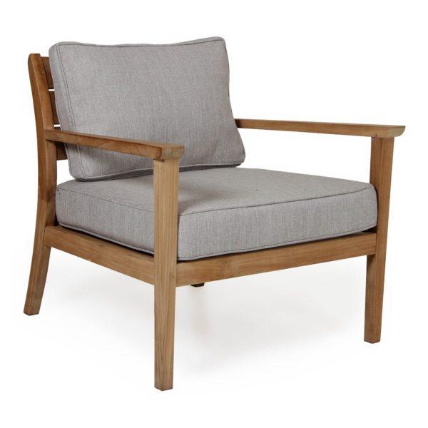 """Кресло из тика """"Chios"""". Садовая мебель Brafab, Швеция."""