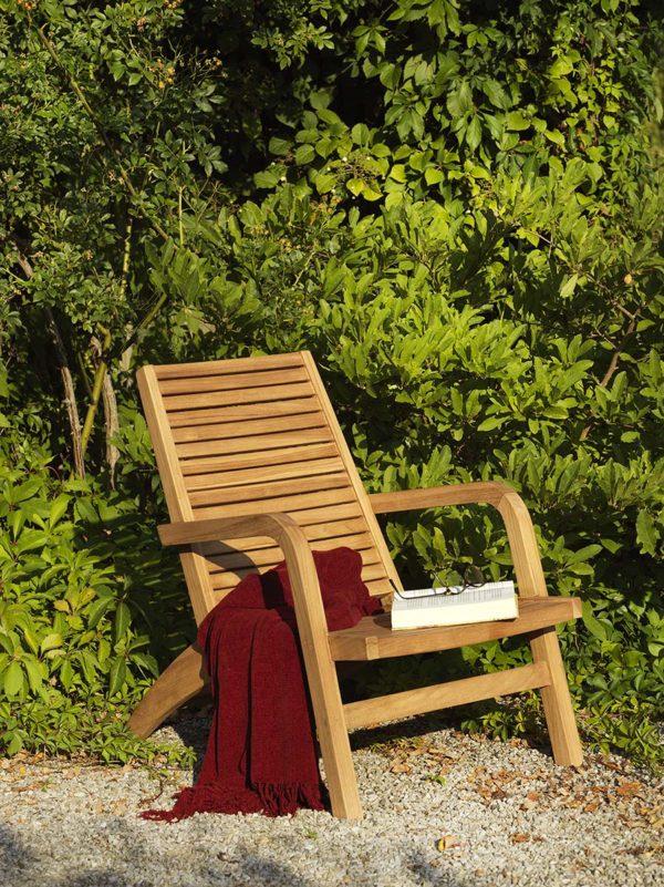 """Кресло из тика """"Volos"""". Садовая мебель Brafab, Швеция."""