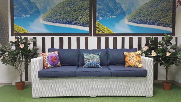 Плетеный диван из искусственного ротанга «Louisiana», SunLineDesign