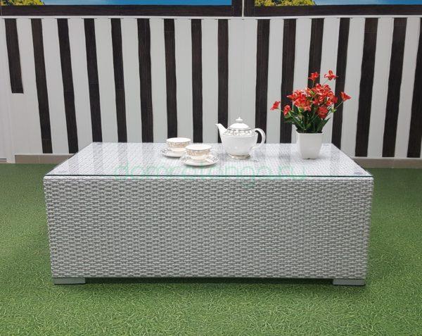 Плетеный кофейный столик «Louisiana». SunLineDesign
