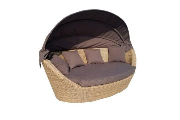 Пляжная плетеная кровать для отдыха Амальфи