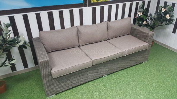 Плетеный диван «Louisiana» mocco