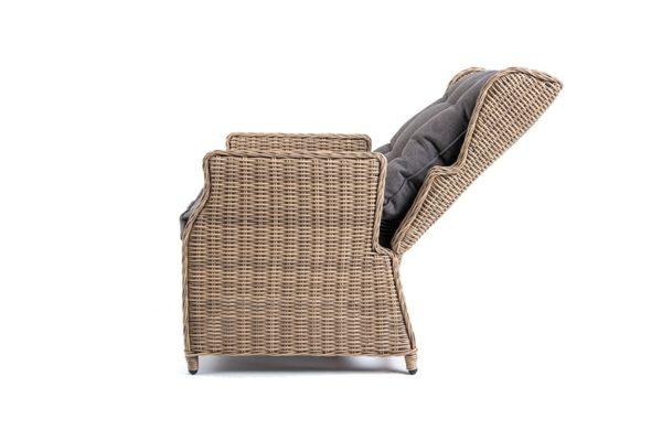 Позиционное плетеное кресло из искусственного ротанга Форио,