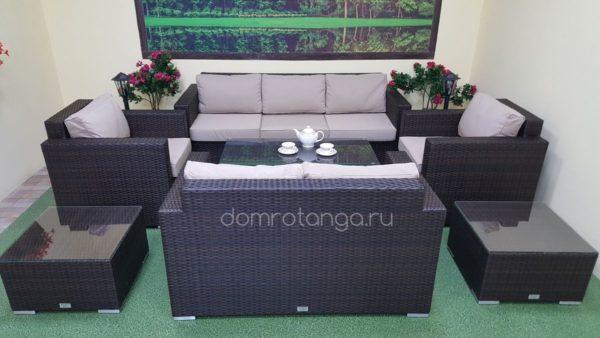 Плетеная мебель из искусственного ротанга Acoustic