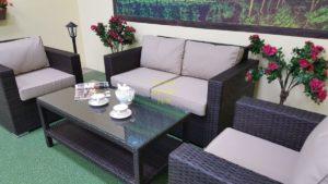 Фото-Acoustic set 5 мебель из искусственного ротанга
