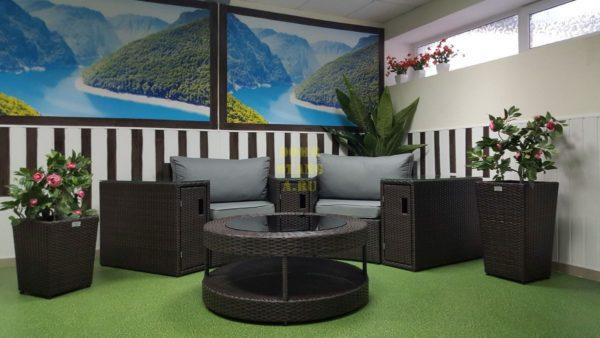 Фото-Galaxy 6 садовая плетеная мебель
