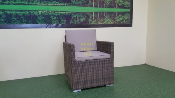 Фото-Infinity кресло из искусственного ротанга