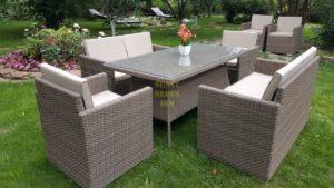 """Фото-Комплект плетеной мебели """"Infinity & Samurai"""" dining patio set"""